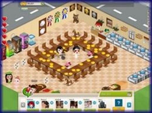 CafeLand Facebook Game
