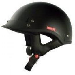 VCAN Solid Cruiser Half Helmet
