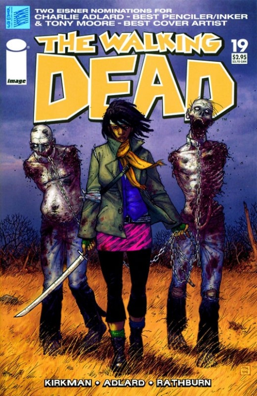 Walking Dead Comic Book Covers To Die For