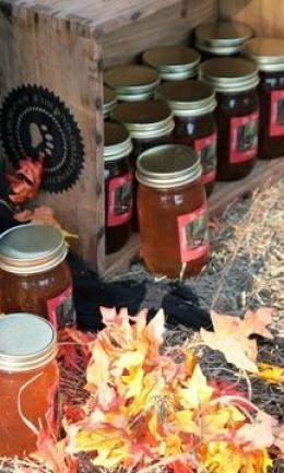 Mountain Honey Display