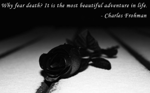 quotes-about-death-black-rose