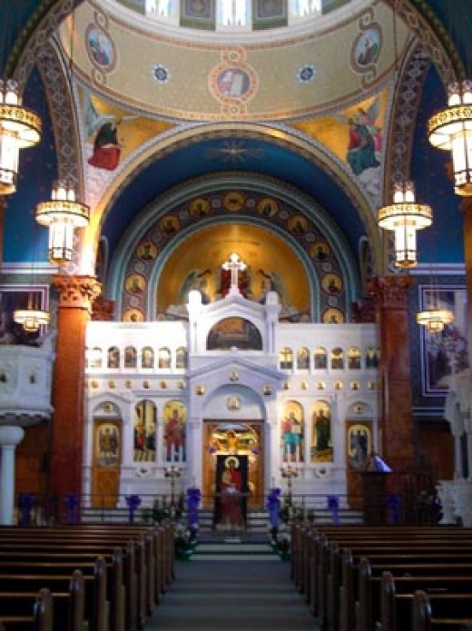 temples in modern greece - religion in greece today