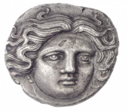 ancient greece silver coins