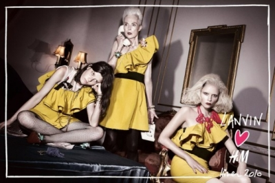 Lanvin's yellow dress for all generations