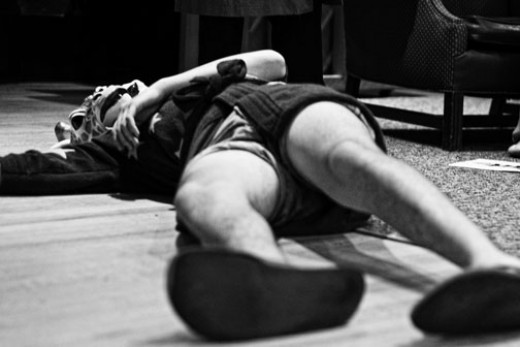 Jacob Plays Dead (Photo by Daniel Penny / flickr.)