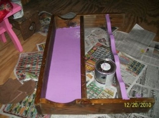 Painting a Wooden Headboard