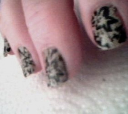 Laced up Salon Effects Real Nail Polish Strips