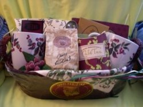 Whether you buy or make your own homemade gift baskets for family and friends remember to fill them with things they love,