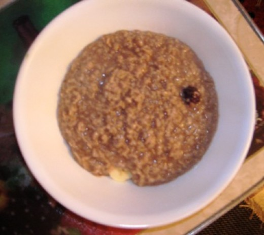 oatmeal, organic