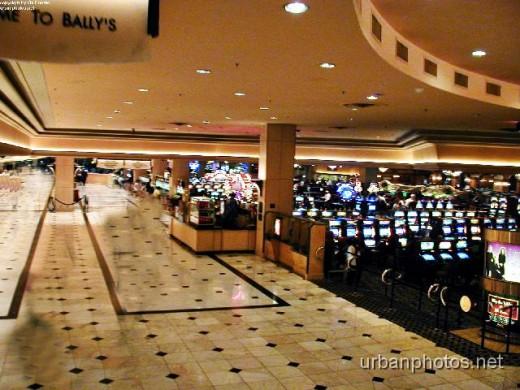 Bally's lobby area and casino