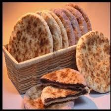 Piaya/ Piyaya is  made of flat, flaky bread with sweet fillings ( with the use of muscovado ) and sprinkled with sesame seeds.