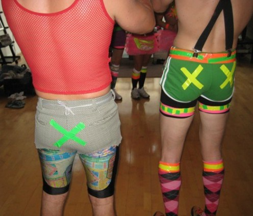 Hey guys, colored duct tape isn't just for the ladies (that's me on the right)