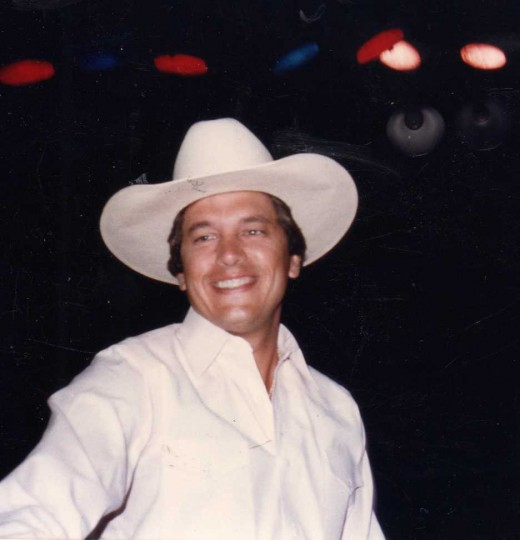 Copyright KCC:  I took this picture of George Strait in the mid-80s