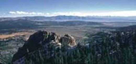 Long Valley Caldera, California (Source: USGS, Roy A. Bailey)