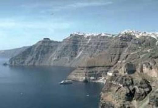 Santorini (Fair Use Source: Smithsonian)