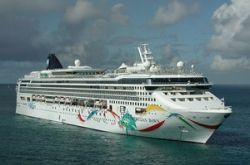 The Cruise Ship Norwegian Dawn