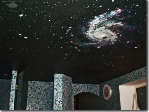 night stars on ceiling