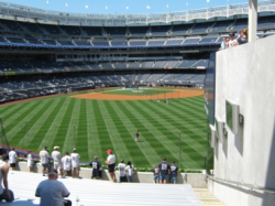 Yankee Stadium Obstructed View