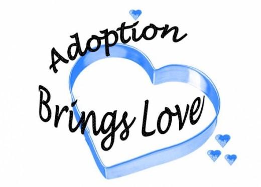 Blue Hearts Design - Adoption Brings Love