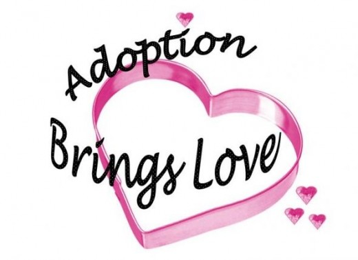 Pink Hearts Design - Adoption Brings Love