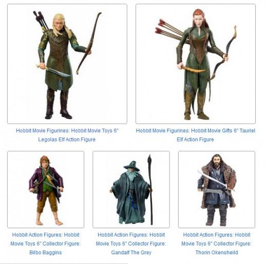 Hobbit 6 Inch Action FIgures