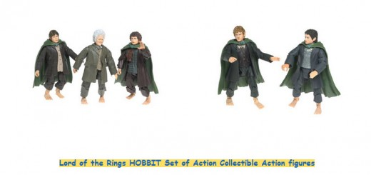 LOTR hobbit action figures