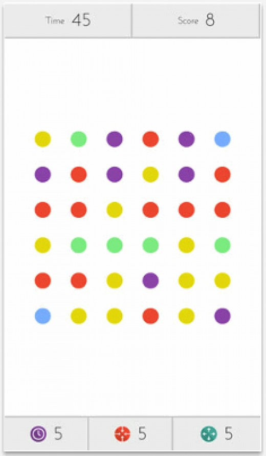Dots Mobile Game