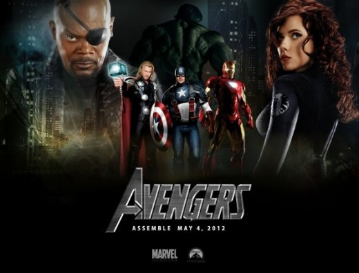 Avengers Movie Poster- Best Movie Poster of 2012