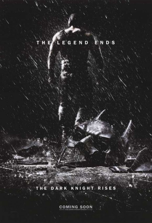 Batman Dark Knight Rises poster 2012