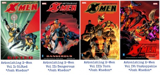 Joss Whedon Xmen Graphic Novels Collection