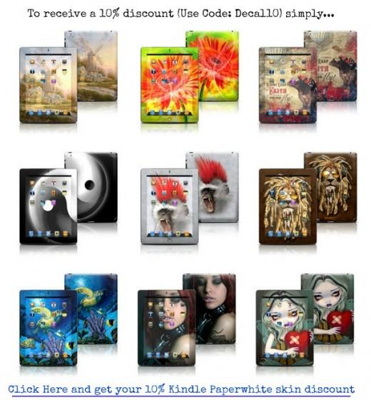 Kindle Skins Collection