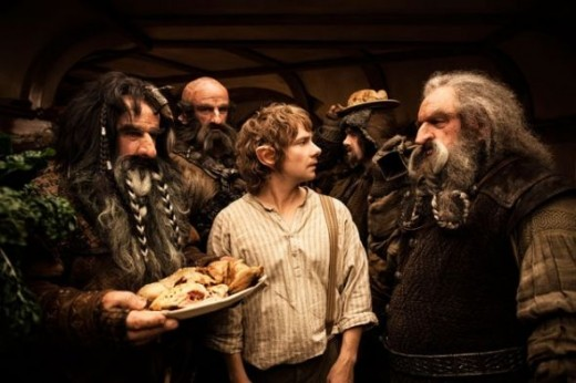 Scene from the Hobbit Movie
