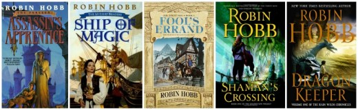 Robin Hobb Epic Fantasy Books