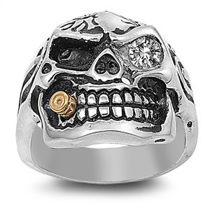 Skull Rings for Men-Jewelry