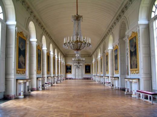 Grand Trianon Interior. Photo by Sean Munson.