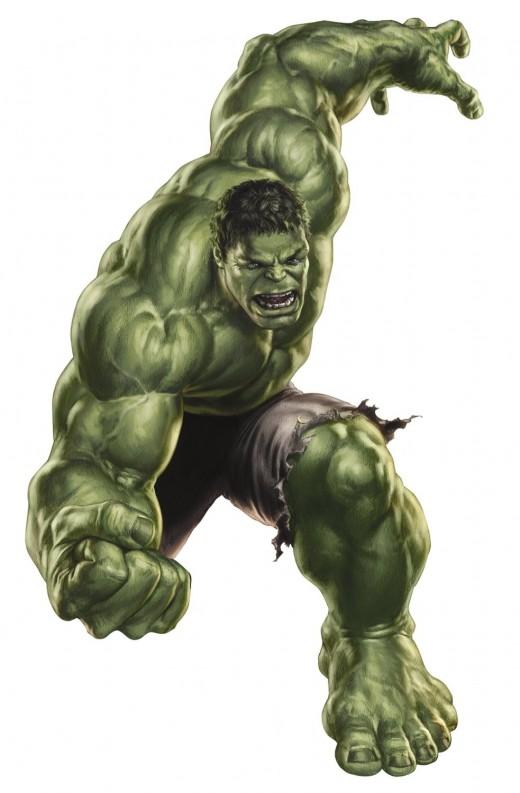 Best Hulk Wall Decal