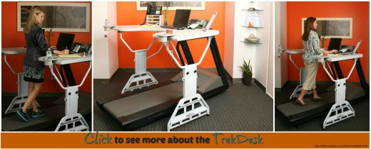 TrekDesk Addon Treadmill Desk for home gyms