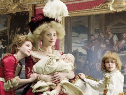 Remarkable and lifelike portrayal of Marie Antoinette and family in wax in the Palace of Versailles. Photo: Jean Aveline.