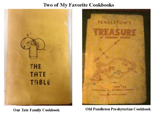 These are two of my most favorite cookbooks.  You can see how worn they are from lots of use.