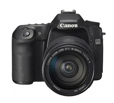 Canon 50D Digital SLR camera