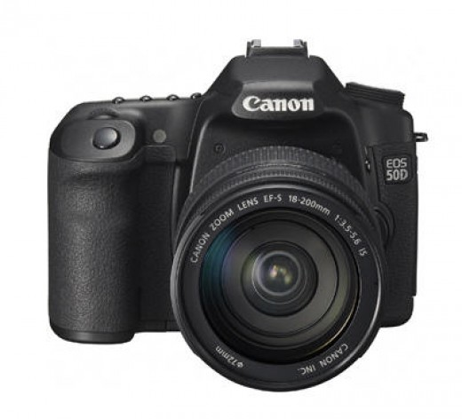 Canon 50D Digital SLR camera