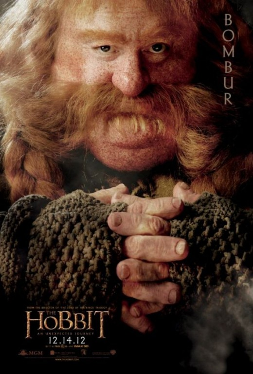 Bombur Hobbit Movie Dwarf