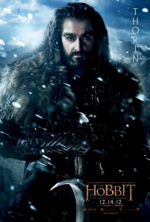 Thorin Oakenshield Hobbit Dwarf