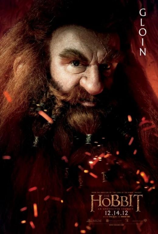 Hobbit Dwarves Gloin