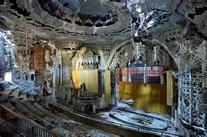 Some historic theaters hold haunted events to raise funds. Image by Wordpress.