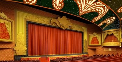 The Walt Disney Theater is an incredible venue for spectacular stage shows.