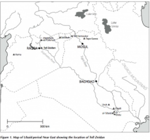 Rought Area showing the Ubaid tribe Origins