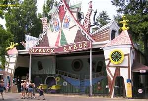 The Whacky Shack is a historic dark ride with twists, turns, and surprises.