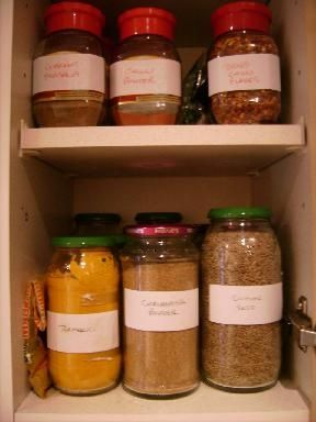 Inside my 'Curry Cupboard'