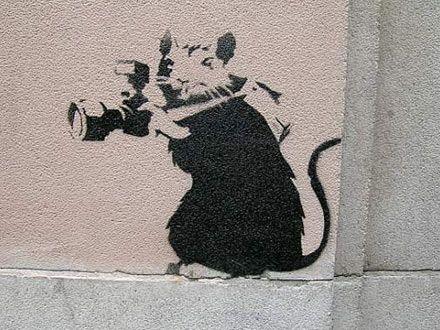 Banksy's Rats